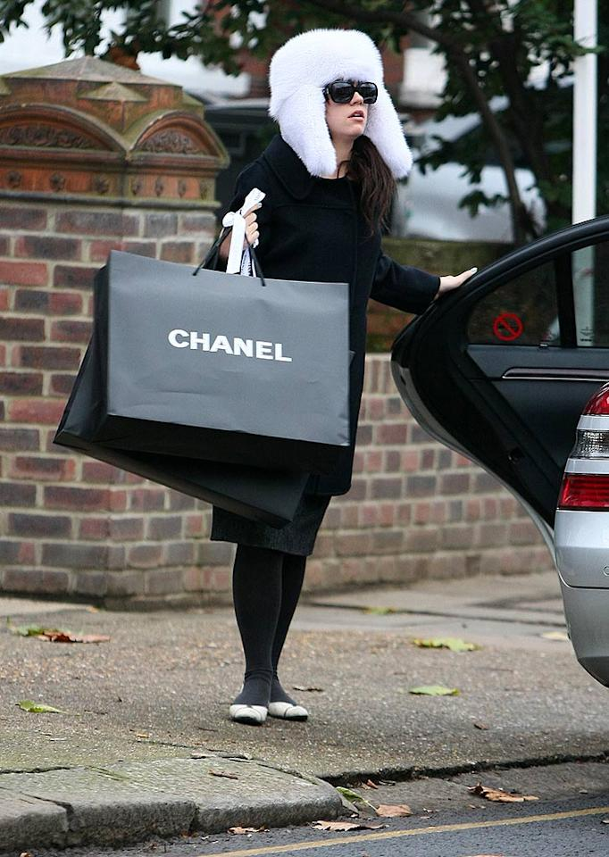 """Shopping at the Chanel store in London is one of Lily Allen's favorite pastimes. Sturdy/<a href=""""http://www.infdaily.com"""" target=""""new"""">INFDaily.com</a> - December 12, 2008"""