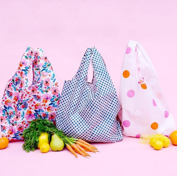"""<p>Blushing Confetti's reusable shopping bags are perfect for the eco-queen to take her weekend market haul in style. Prints include candy floral, dessert delights and polka face. $14.95 Photo: Supplied/<a rel=""""nofollow"""" href=""""https://blushingconfetti.com/collections/reusable-bag-shopping-bag"""">Blushing Confetti</a> </p>"""