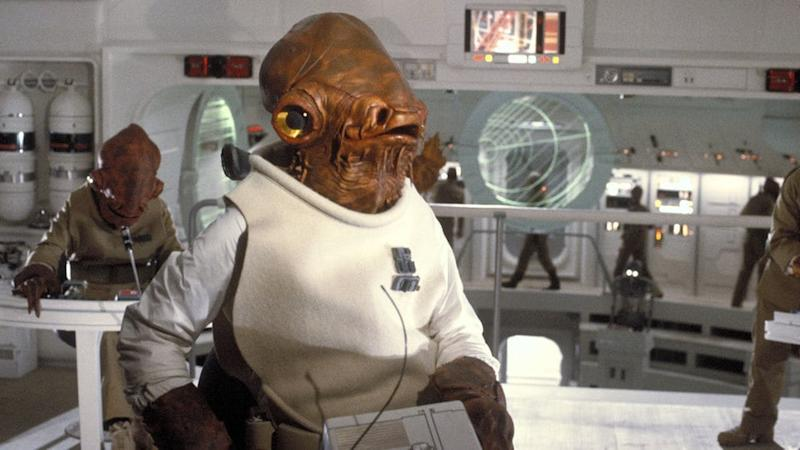 Ackbar in Return of the Jedi (Credit: Fox/Lucasfilm)