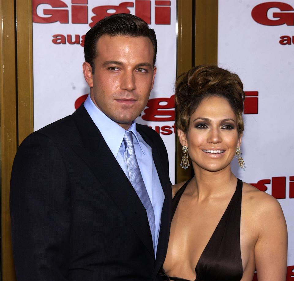 Ben Affleck and Jennifer Lopez at the