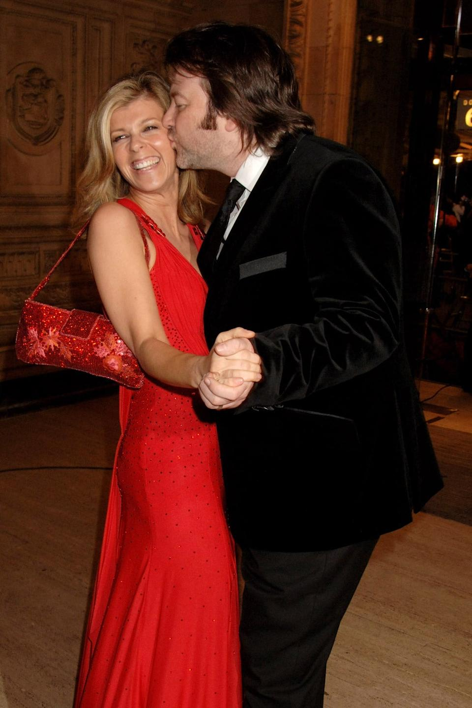Happily married: Garraway and Draper have two children together (Dave Benett)