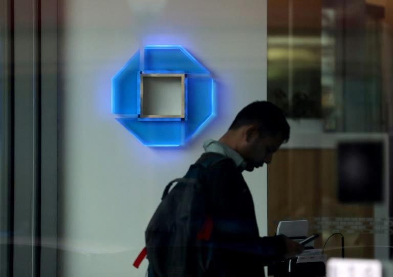 JPMorgan Chase and other large US banks are testing emergency systems in case the coronavirus disruptions (AFP Photo/JUSTIN SULLIVAN)