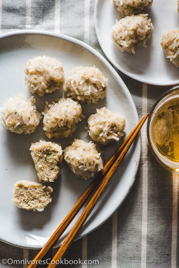 """<p>Forget rice on-the-side when you can roll it onto a meatball. Make double and freeze for future meal nights! <i>[Image: Omnivore's Cookbook]</i></p><p>Get the recipe from: <b><a rel=""""nofollow"""" href=""""http://omnivorescookbook.com/pearl-balls"""">Omnivore's Cookbook</a></b></p>"""