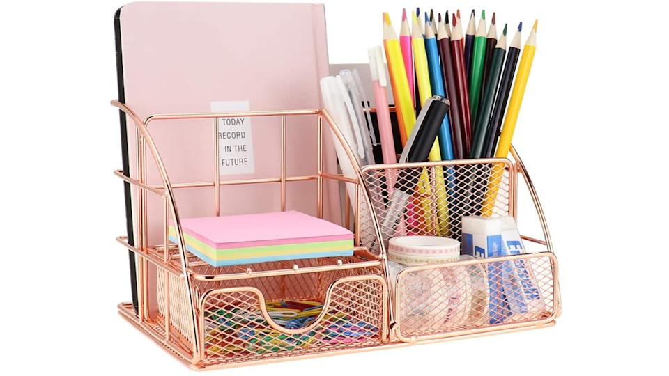 LEORISO Desk Organizer - Amazon, $47.