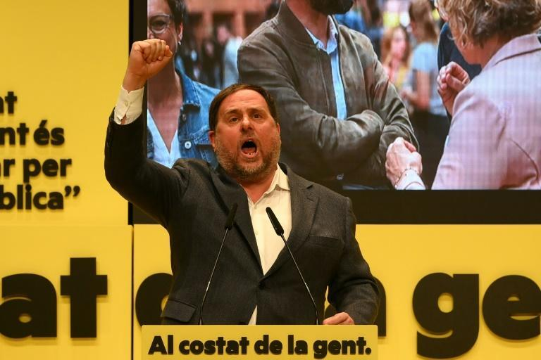 The ERC led by Oriol Junqueras is seen as more moderate than rival Catalonian independence party JxC