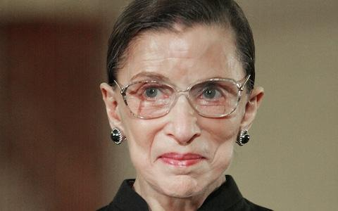 Ruth Bader Ginsburg was nominated by President Bill Clinton - Credit: AP