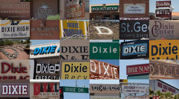 Dixie names around St. George Tuesday, June 30, 2020.
