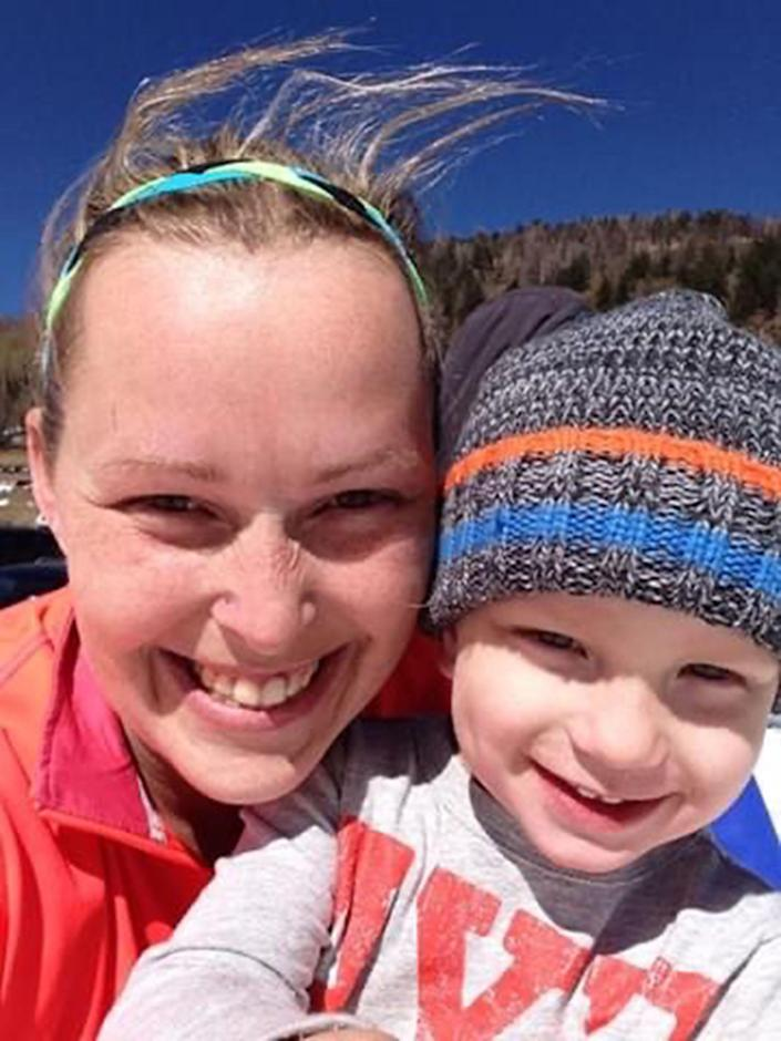 Cassi Free of Broken Arrow, O.K., and her son Andrew, 9, who died of CO poisoning in June. (Cassi Free / Cassi Free)