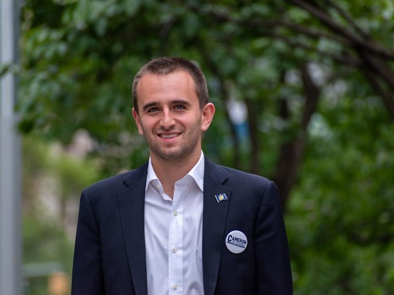 Cameron Koffman is running for elected office in his native Upper East Side fresh out of Yale University.