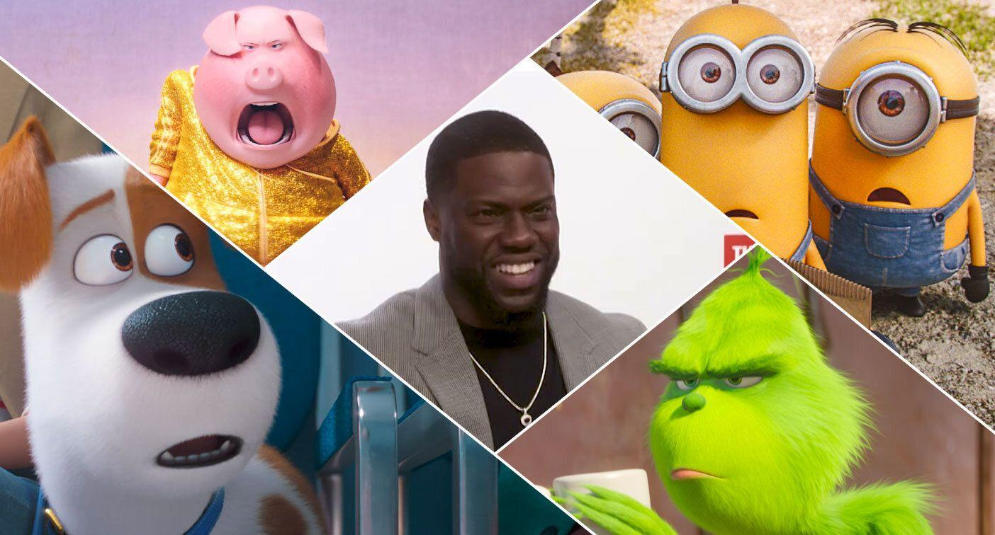An Illumination crossover movie would be quite the cinematic event thinks Kevin Hart. (Universal)