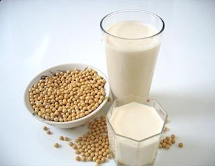 Soy beans, and Soy milk.