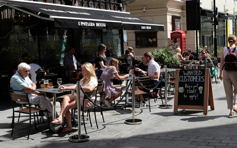 Could pubs and restaurants close again? The latest rules and what happens if Covid-19 cases keep rising - AP/Alastair Grant