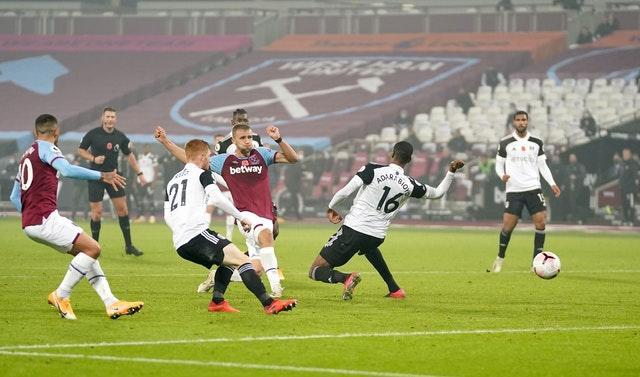 Tomas Soucek proved to be the match-winner for West Ham