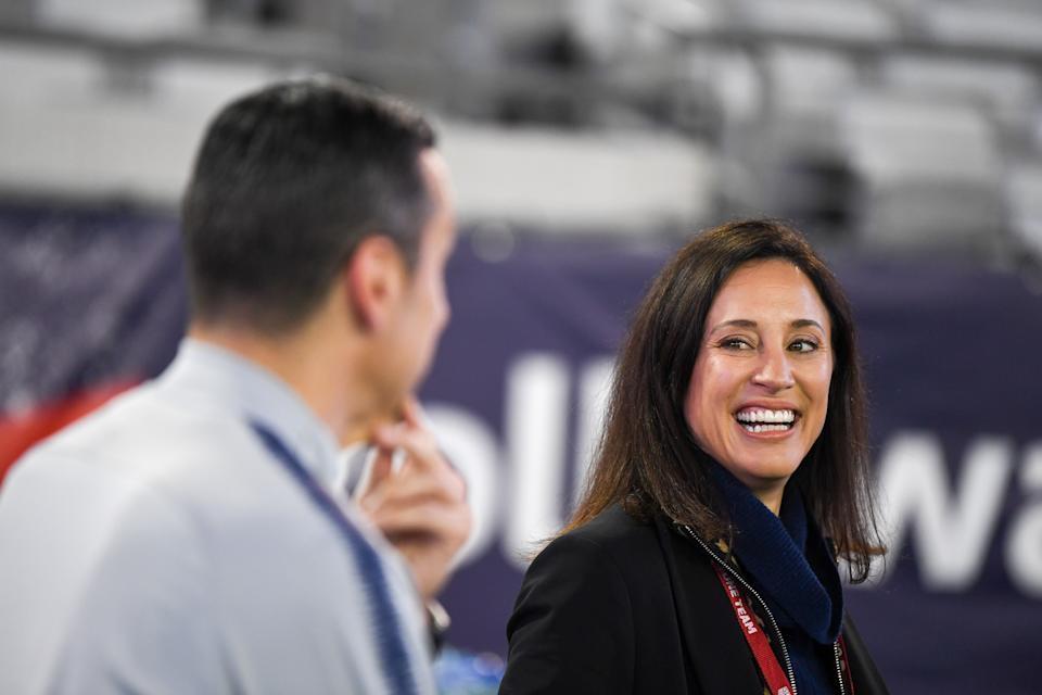 Kate Markgraf's experience outside the United States Soccer Federation lends her a unique perspective now that she's back in it. (Photo by Brad Smith/ISI Photos/Getty Images)