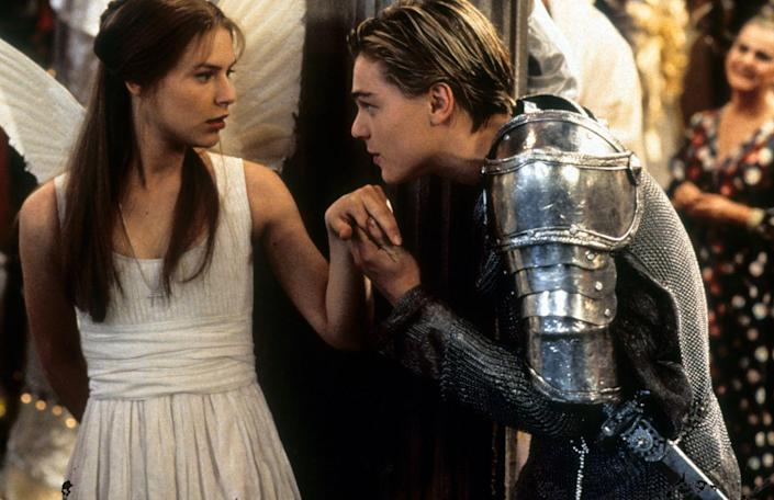 <p>Even though we all know Shakespeare's story from reading it in school, it truly came alive with Leonardo DiCaprio and Claire Danes in the title roles. Romeo really put Leo on the map as a heartthrob. Despite knowing how the movie would end, we still loved every step of Romeo and Juliet's passionate and devastating story in Baz Luhrmann's film. The modern take on <em>Romeo + Juliet</em> also left us with an amazing movie soundtrack. </p>