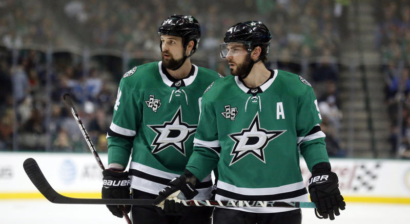 The Stars earned a wild-card spot last year, and will be looking to improve on that positioning this time around. (AP Photo/Michael Ainsworth, File)