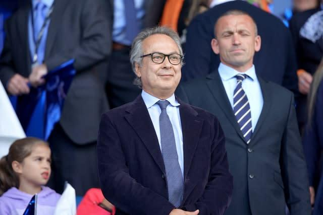 Owner Farhad Moshiri has invested heavily in Everton since buying the club (Ian Hodgson/PA)
