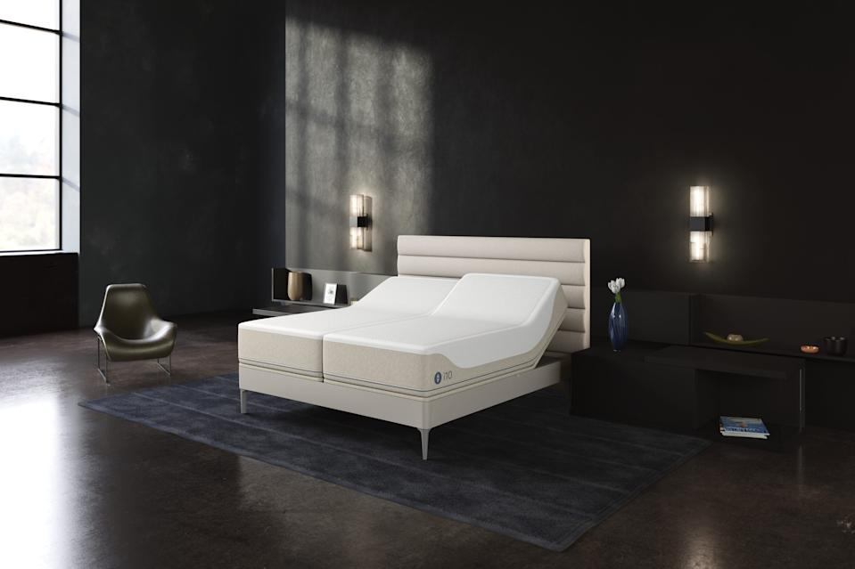 "The Sleep Number 360 i10 ""smart bed."""