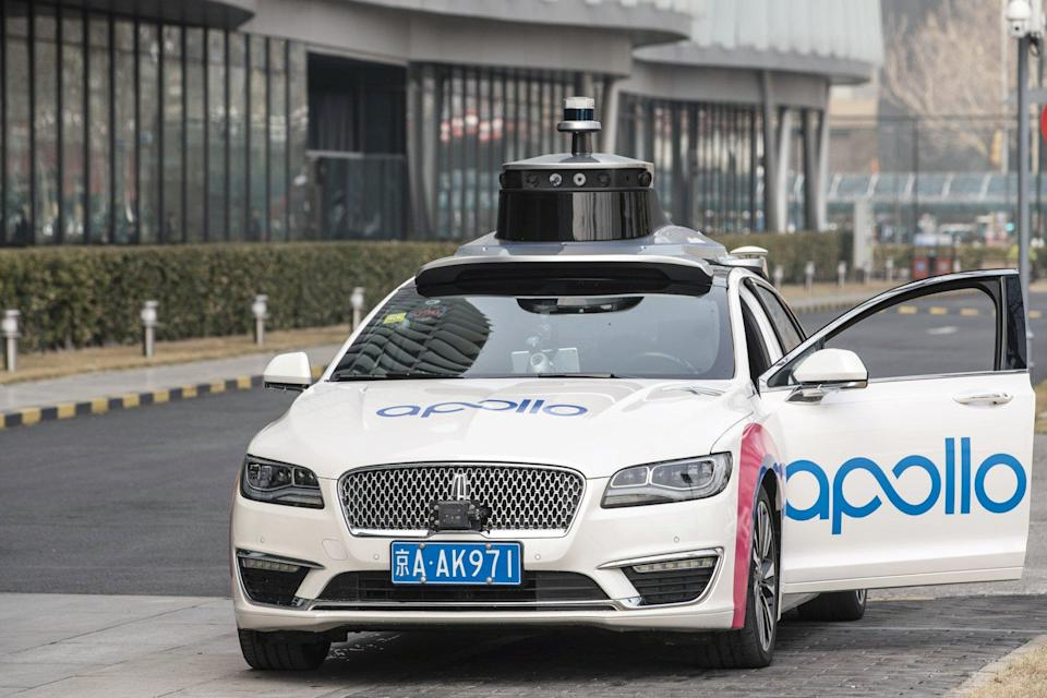 Baidu plans to invest in enhancing the commercialisation of its AI technology, including its AI cloud solutions, and autonomous driving platform Apollo. Photo: Bloomberg