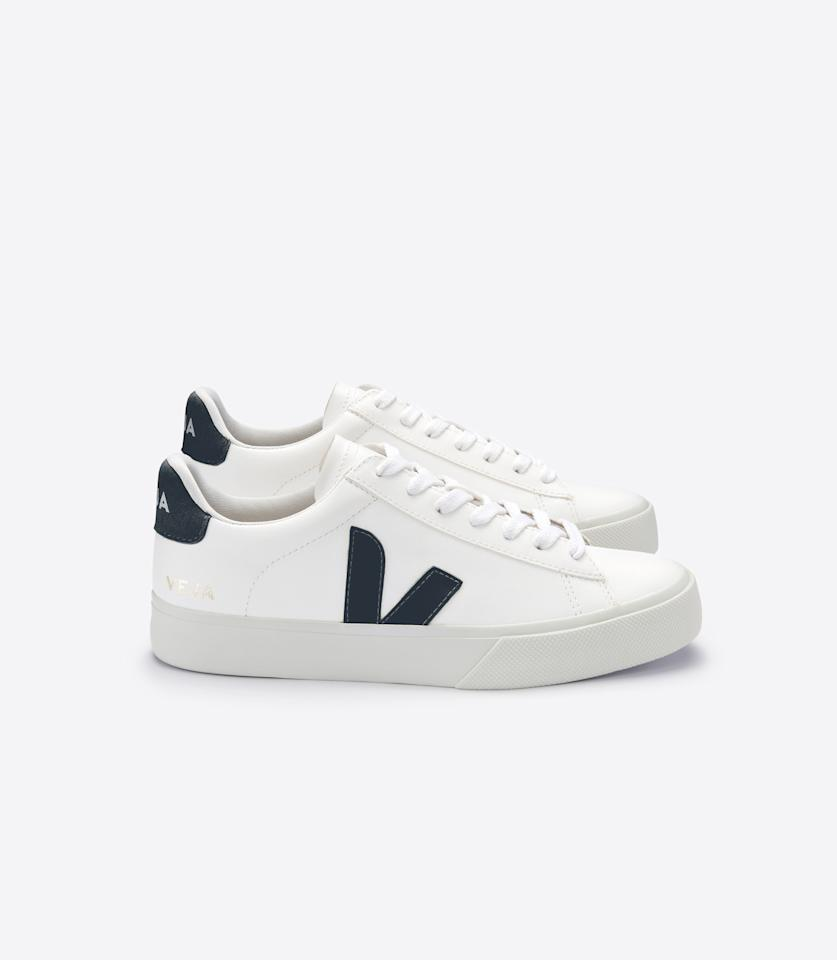 "<p><span>Channel your inner Meghan Markle (who wore these trainers on tour in Australia) with these $80 <a rel=""nofollow"" href=""https://www.veja-store.com/en/"">Veja</a> trainers.</span> </p>"