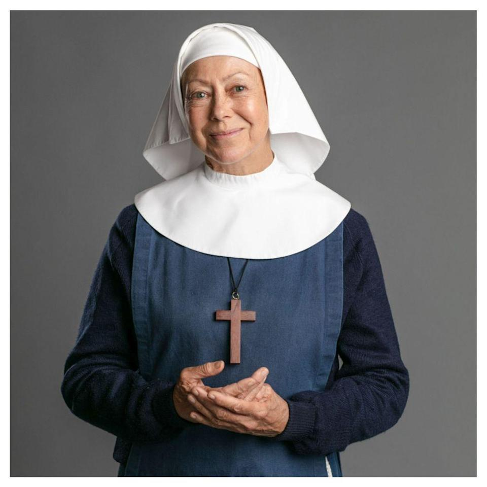 The beloved British screen icon plays Sister Julienne in the acclaimed BBC series 'Call The Midwife'. — Picture courtesy of BBC Studios