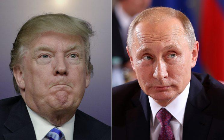 Trump and Putin are at odds over the attack in Syria (Getty Images)