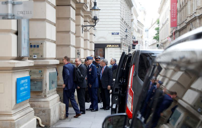 Russian deputy Foreign Minister Sergei Ryabkov meets with U.S. special envoy Marshall Billingslea in Vienna
