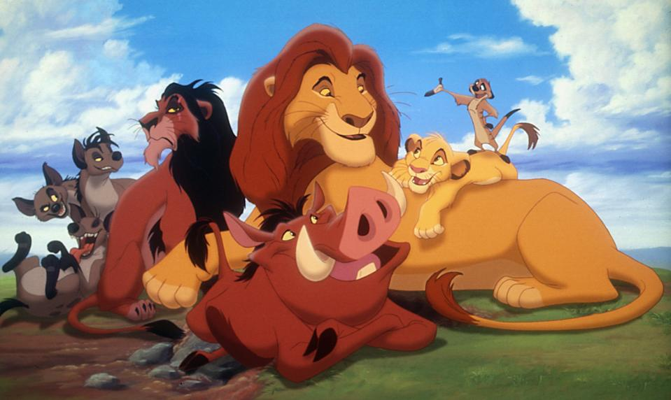 The animal ensemble in Disney's 1994 animated classic, 'The Lion King' (Photo: Courtesy Everett Collection)