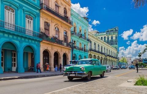 <span>Havana's iconic vintage cars are well-worth a ride</span> <span>Credit: iStock </span>