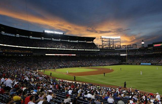 The sun is setting on Turner Field. (AP)