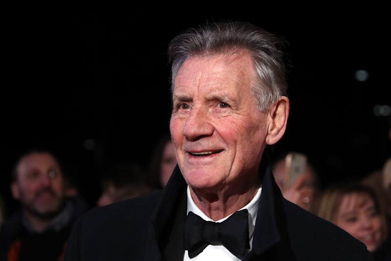 Sir Michael Palin attends the National Television Awards 2020 at The O2 Arena on January 28, 2020 in London, England. (Photo by Mike Marsland/WireImage)