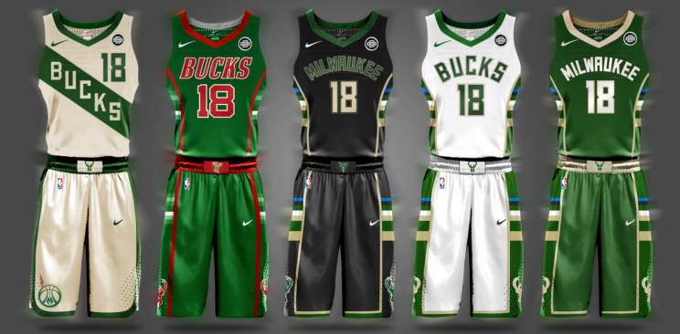sale retailer 56e66 90786 While we wait for NBA jersey releases, a fan designed his ...