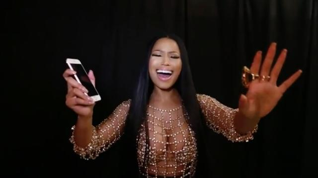 """Nicki Minaj Lip-Synced """"It's All Coming Back to Me Now"""" and Celine Dion F*cks With It"""