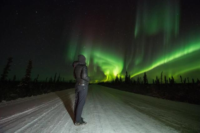 Marvel at the Northern Lights in the Northwest Territories. (Northwest Territories Tourism/Facebook)