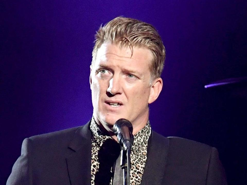 Josh Homme, lead singer of the rock band Queens of the Stone Age (Getty Images)