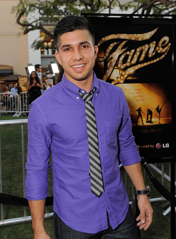 "<a href=""http://movies.yahoo.com/movie/contributor/1809867906"">Walter Perez</a> at the Los Angeles premiere of <a href=""http://movies.yahoo.com/movie/1810033914/info"">Fame</a> - 09/23/2009"