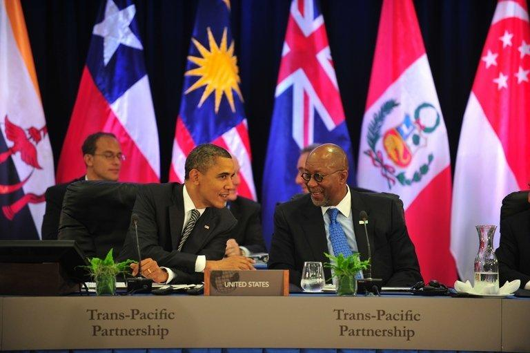 TPP talks have attracted controversy because of their perceived secrecy