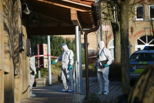 After the shooting in southern Germany, first responders arrived on the scene to find the dead and wounded in and around a local hotel