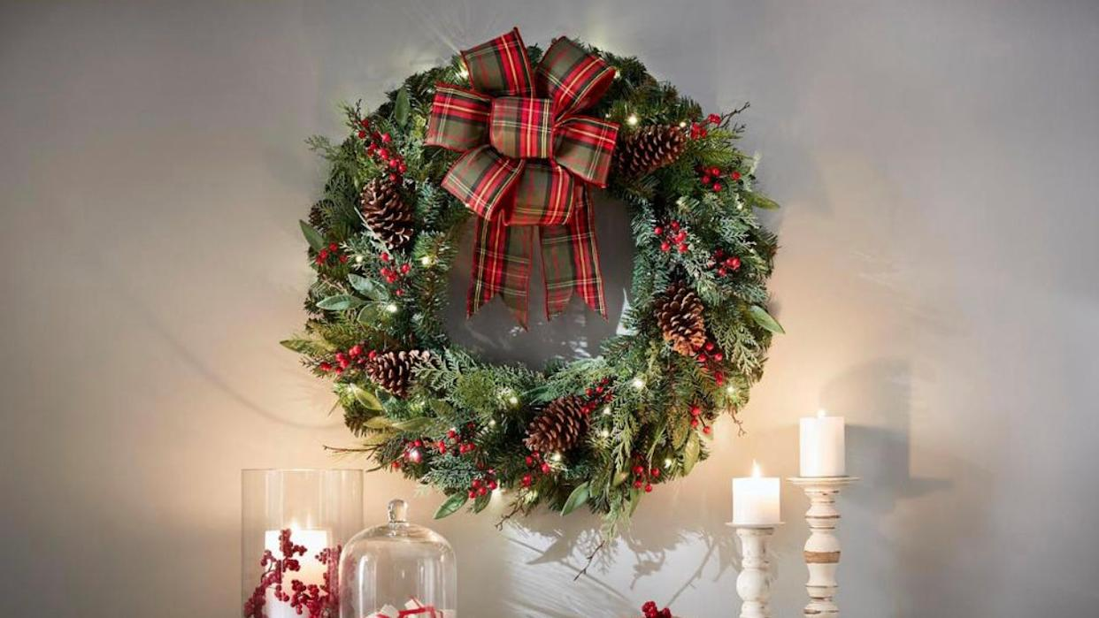 This best-selling wreath is a holiday must-have.