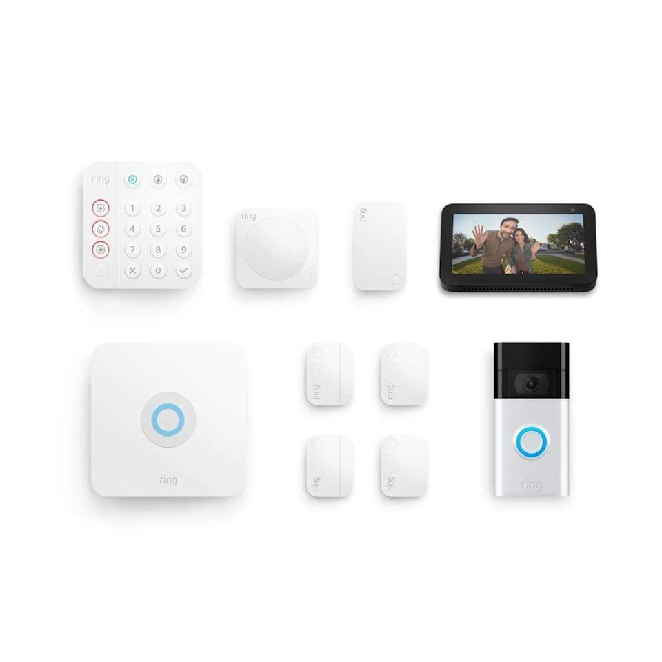 <p><span>Ring Alarm 8-piece kit (2nd Gen) with Ring Video Doorbell (2nd Gen) and Echo Show 5</span> ($300 originally, $430)</p>