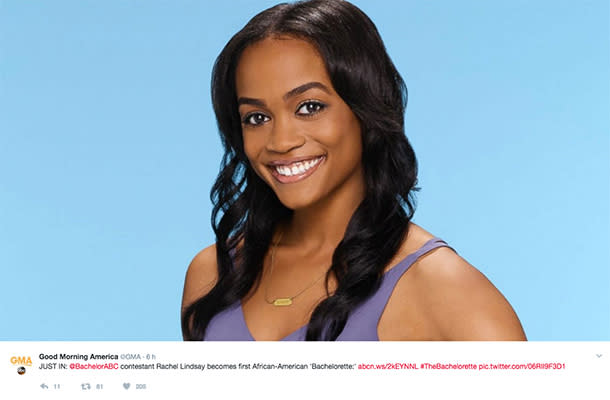 ABC Casts Its First Ever Black Bachelorette