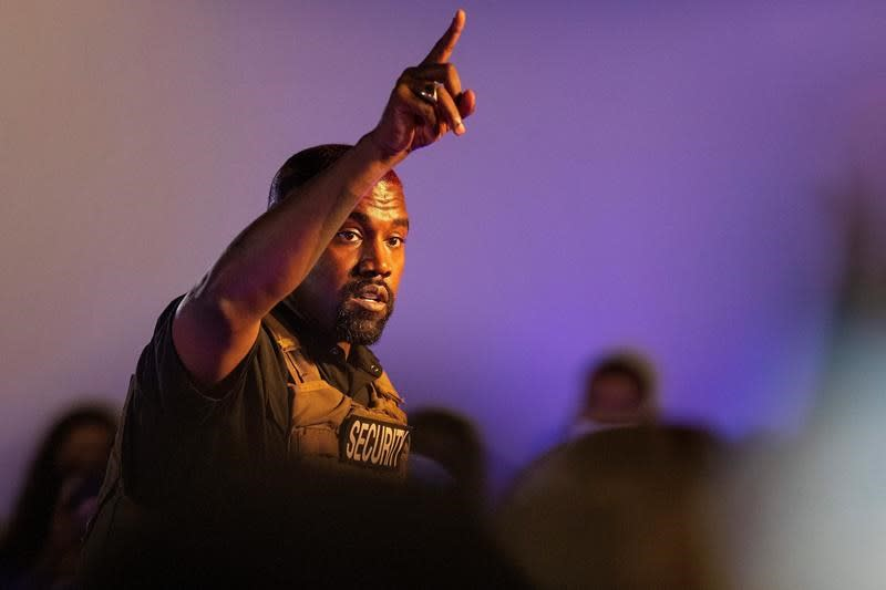 Kanye West sues Ohio election chief over petition denial