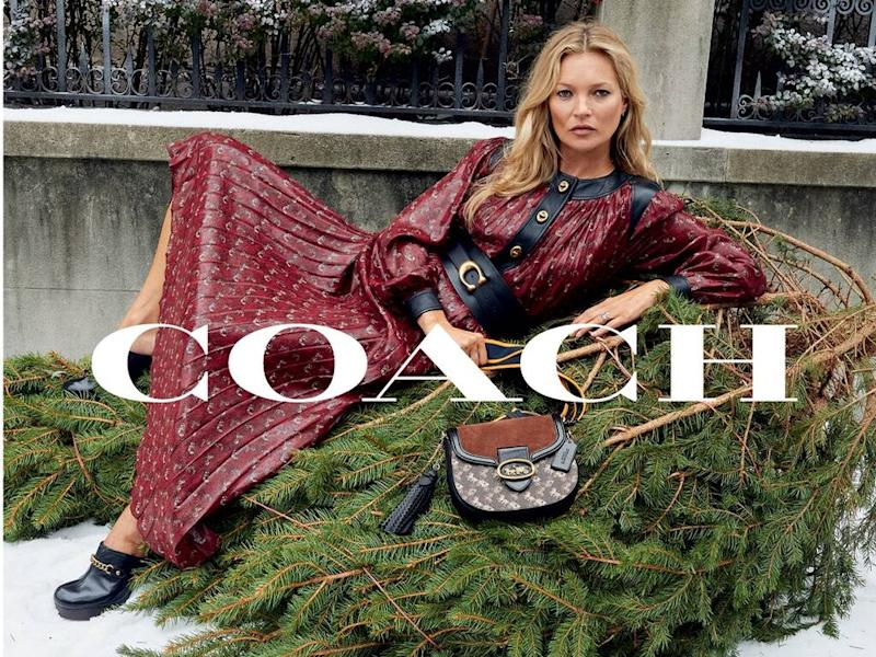 Kate Moss and Yara Shahidi star in Coach's 2019 holiday campaign