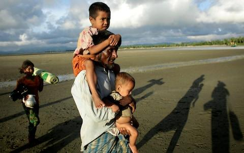 International organizations have reported claims of human rights violations and summary executions allegedly carried out by the Myanmar army - Credit: EPA