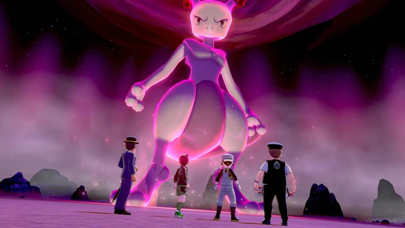 Mewtwo has been given a vamped-up look in Netflix's new movie (Nintendo)