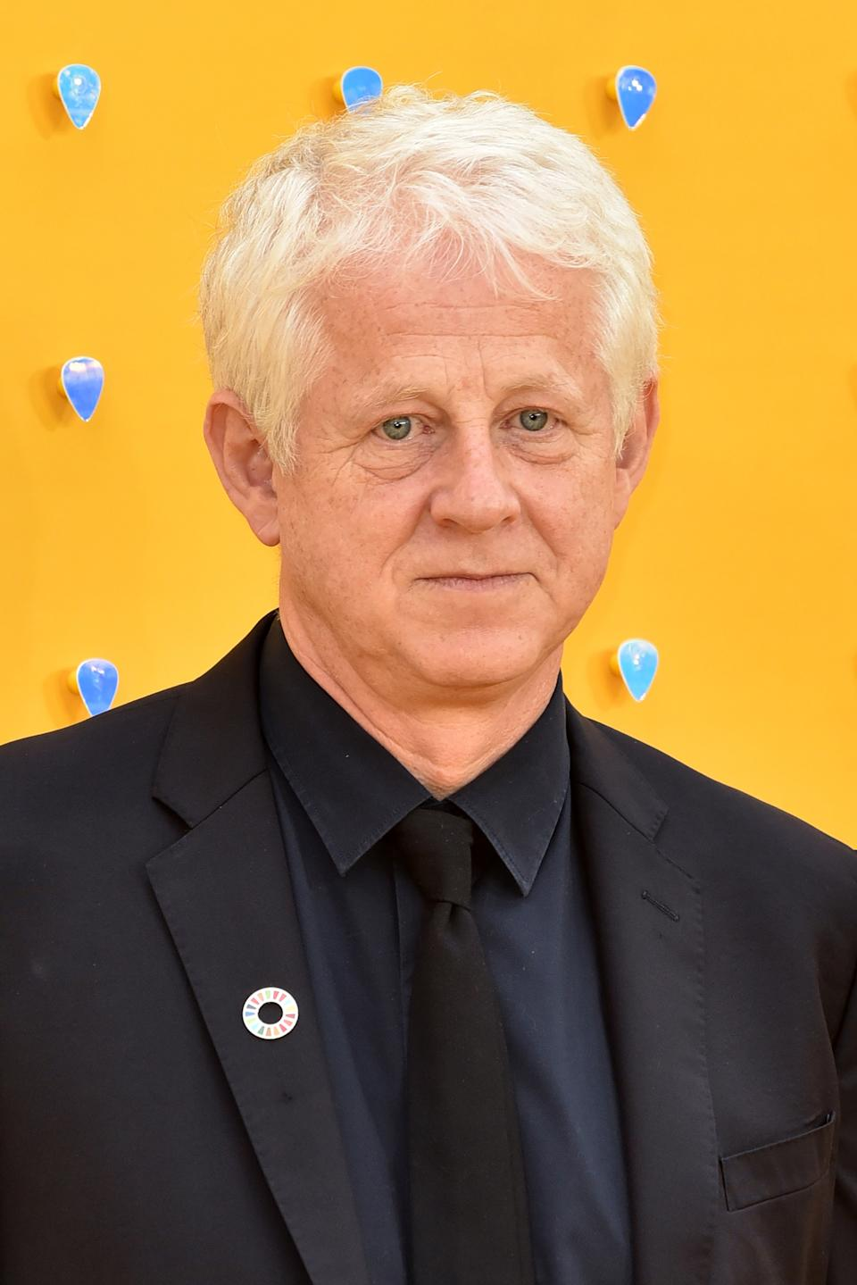 Richard Curtis attends the UK Premiere of 'Yesterday' at the Odeon Luxe in Leicester Square, London, England. (Photo by James Warren / SOPA Images/Sipa USA)