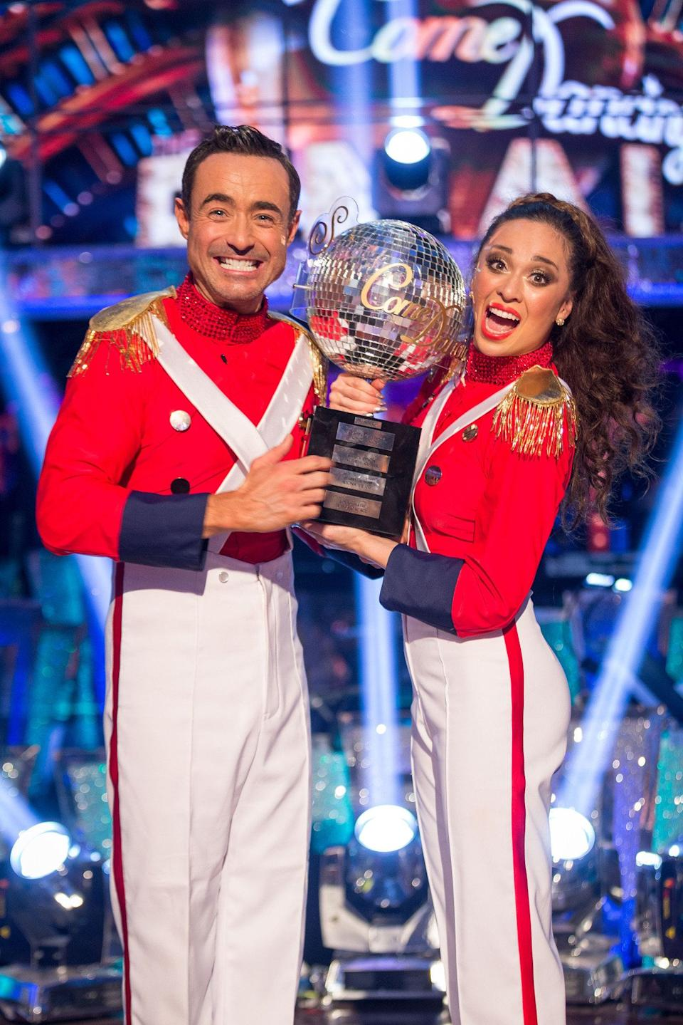 'Holby City' actor Joe was the dark horse of the competition, rising through the ranks as the weeks went on to triumph over Alexandra Burke, Debbie McGee and Gemma Atkinson in the 2017 final.