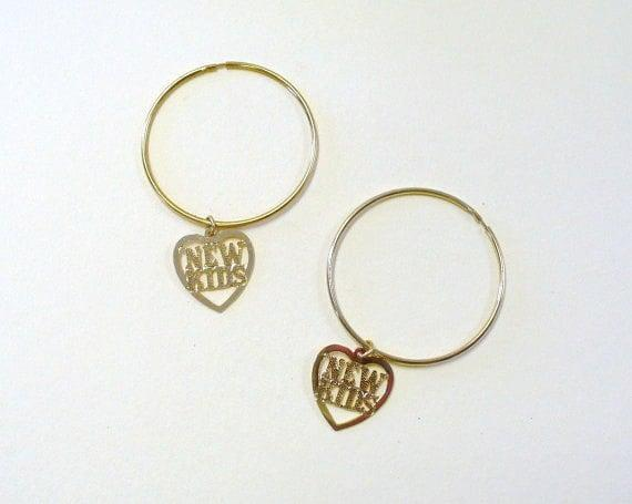 <p>You know you gotta rock these <span>New Kids on the Block Hoops</span> ($10) on a night out. </p>