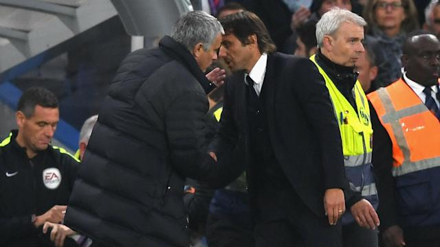 Jose Mourinho and Antonio Conte have had their differences lately but the Chelsea boss defended his Manchester United counterpart on Friday.