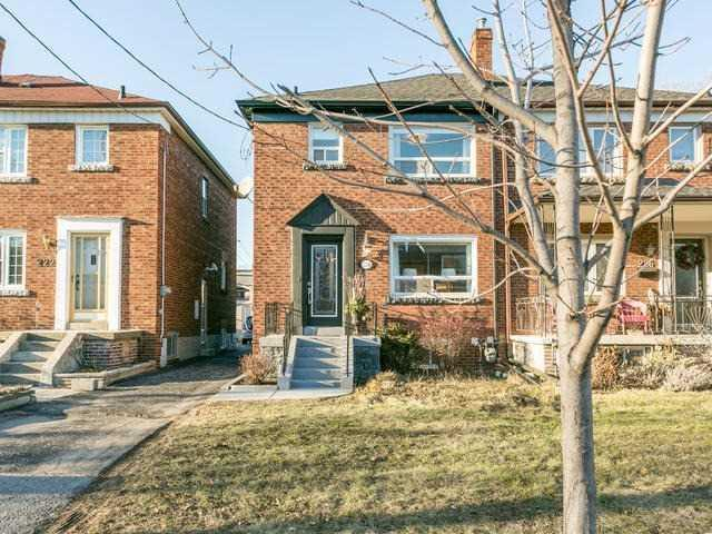 "<p><a href=""https://www.zoocasa.com/toronto-on-real-estate/5105224-224-browning-ave-toronto-on-m4k1x2-e4051817"" rel=""nofollow noopener"" target=""_blank"" data-ylk=""slk:224 Browning Ave., Toronto, Ont."" class=""link rapid-noclick-resp"">224 Browning Ave., Toronto, Ont.</a><br> Location: Toronto, Ontario<br> List Price: $999,000<br> (Photo: Zoocasa) </p>"